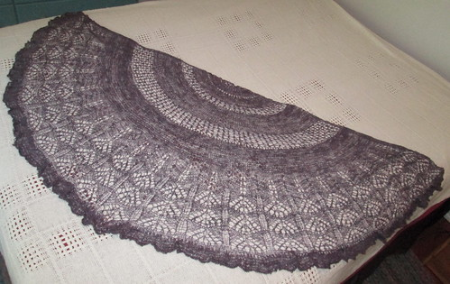 Elemental Things Handspun Shawl