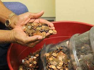 45-year penny hoard
