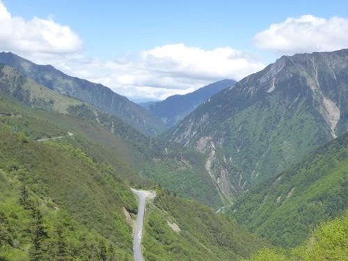 CH-Chengdu-Danba-route-Étape 2-Montée (6)
