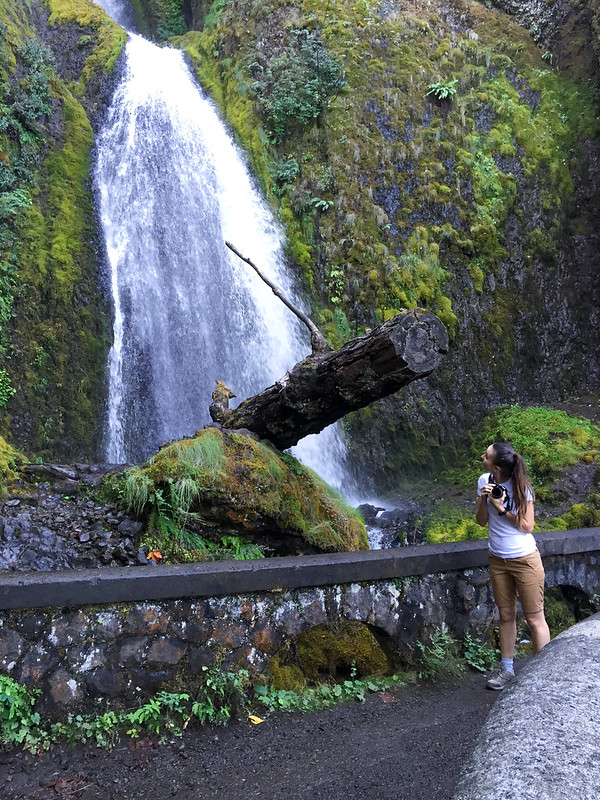 Columbia River waterfalls