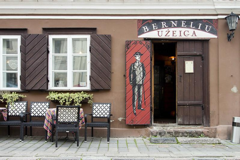 M. Valančiaus Street, Kowno - Kaunas, Lithuania