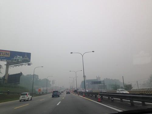 Haze in Shah Alam