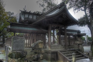 Suitengu Shrine at Kurume, Fukuoka pref. on OCT 27, 2015 (12)