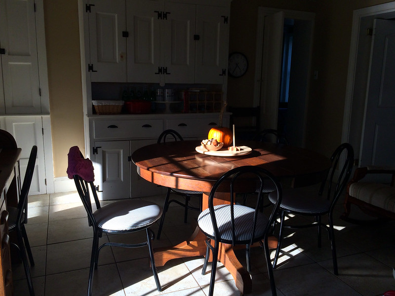 October Light in the Kitchen