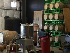 WineShine Barrel room
