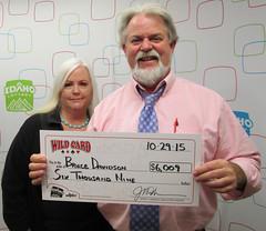 Bruce Davidson - $6,009 Wild Card
