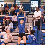 Airport Varsity Volleyball vs Hanahan Playoffs 10-29-15