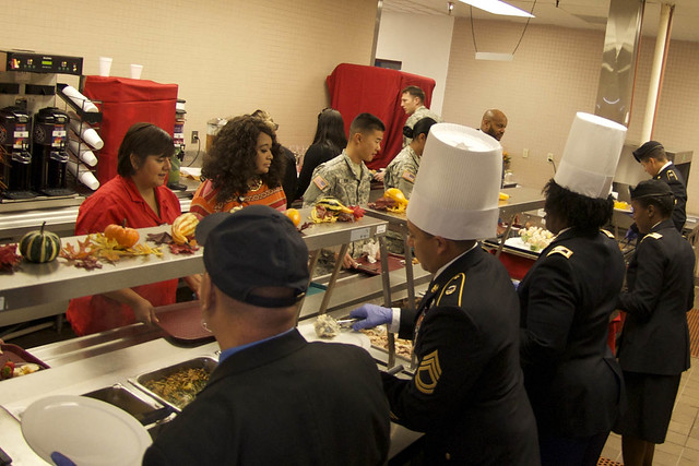WACH LEADERS SERVE UP 2015 THANKSGIVING MEAL and CHEER