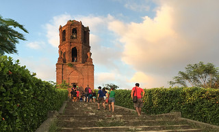 Ilocos Sur - Bantay Bell Tower steps
