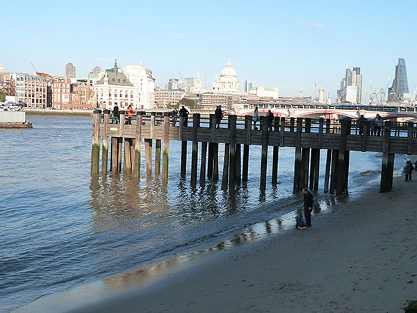 pier on the Thames