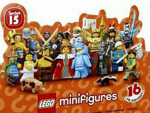LEGO Collectable Minifigures Series 15 Top