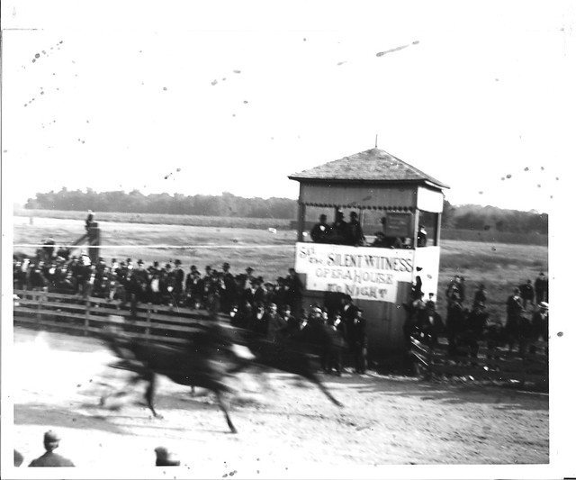 1898 - Horse Race with judge stand