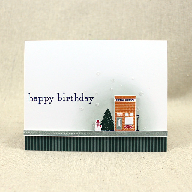 Petite Places Winter Card