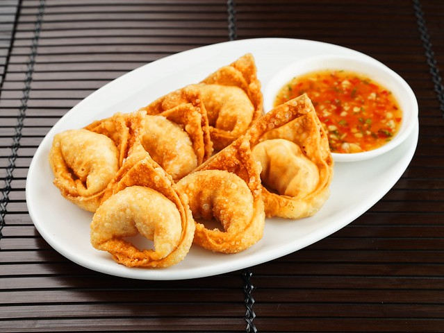 Crispy Shrimp and Pork Wonton