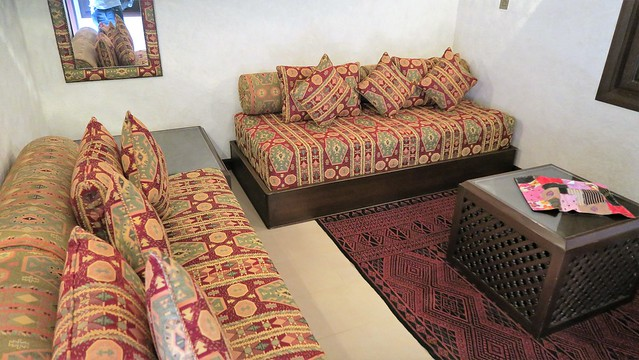 arabian nights village mud hut suite