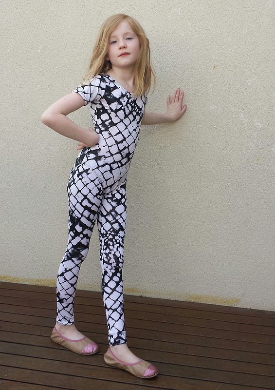 Leotards, leggings and circle skirts for gymnastics