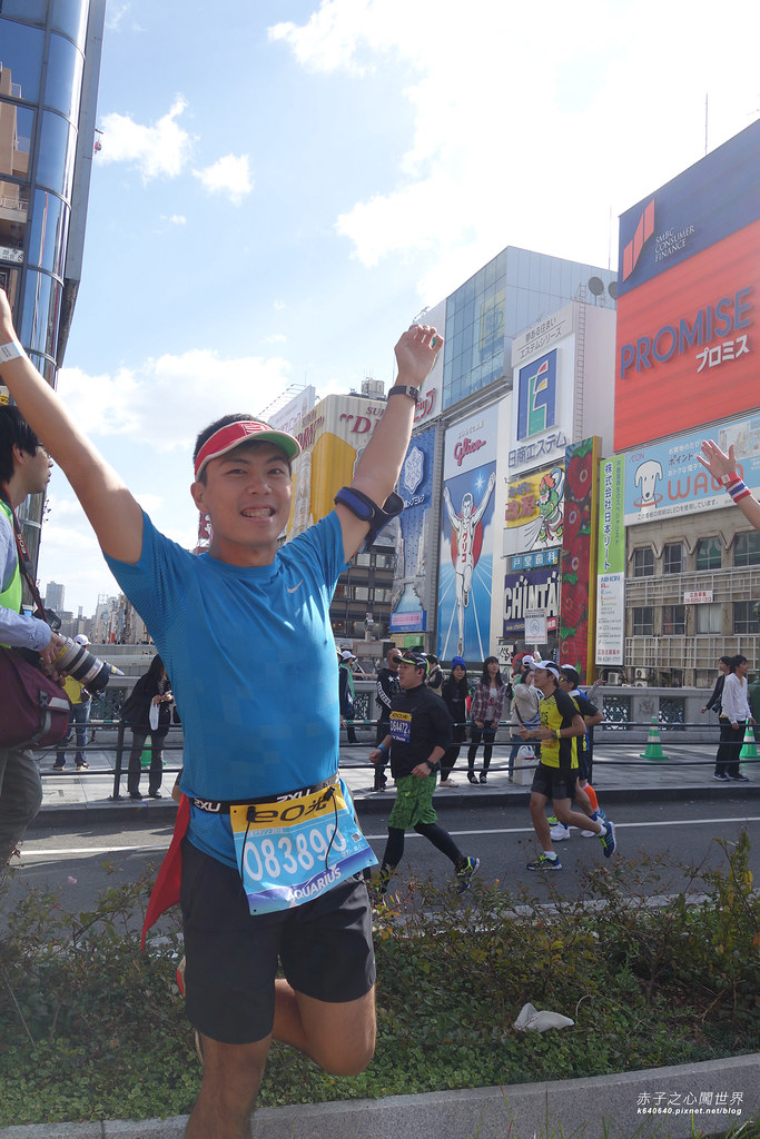 大阪馬拉松-跑步-16