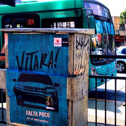 Suzuki Vitara advertising - Santiago, Chile