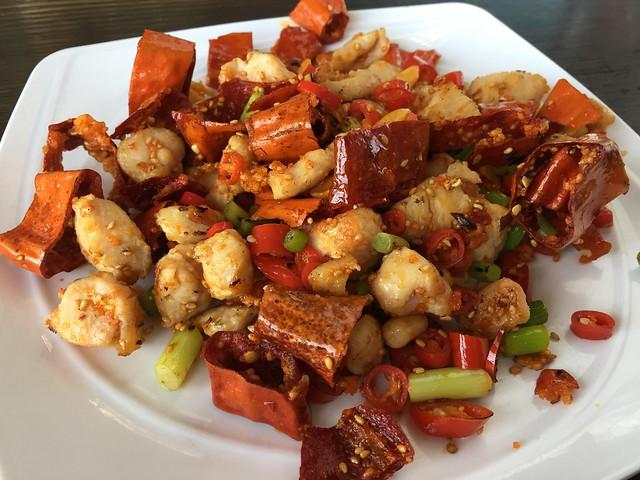 Spicy chicken - Cafe Sambal