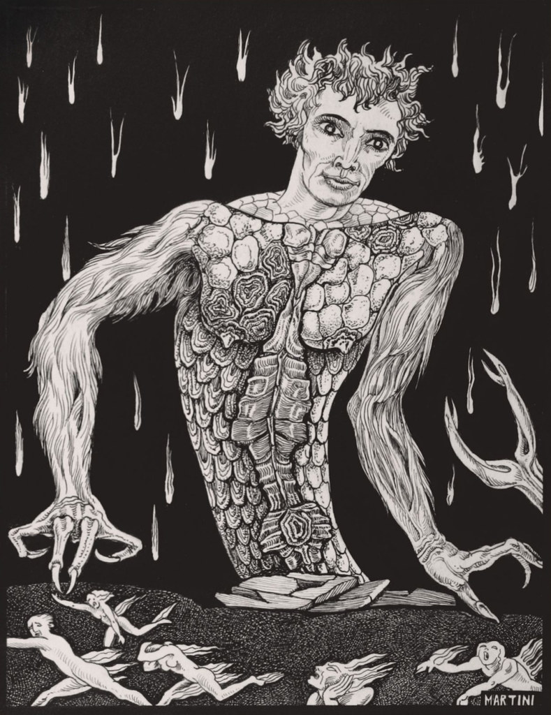 Alberto Martini, Gerion (Inferno, XVII), 1937