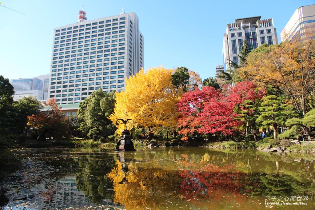 東京賞楓-日比谷公園38