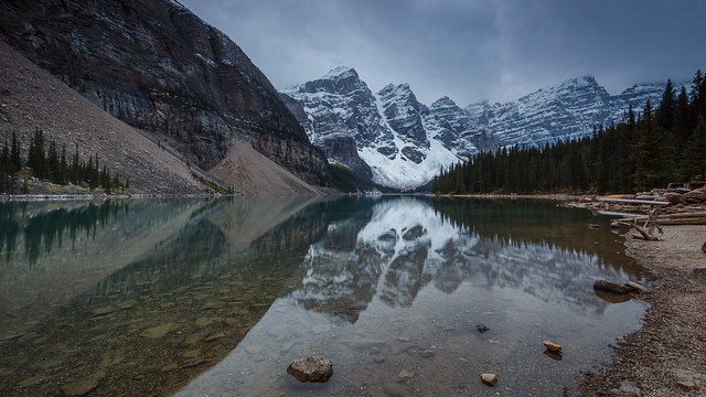 Morraine Lake, Jasper National Park