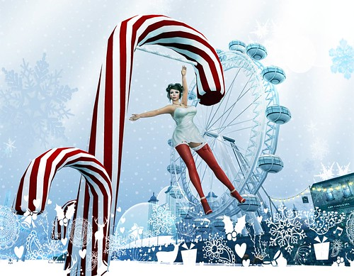 Candy Cane dismount