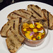 Chicken liver pâté, bourbon, orange, Angostura, sourdough toasts