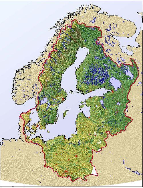 Land cover - Baltic Sea region (BALANS) | GRID-Arendal