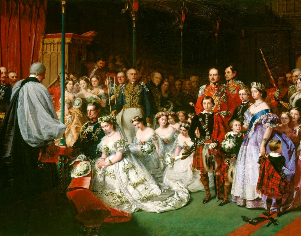 The Marriage of Victoria, Princess Royal, 25 January 1858 by John Phillip