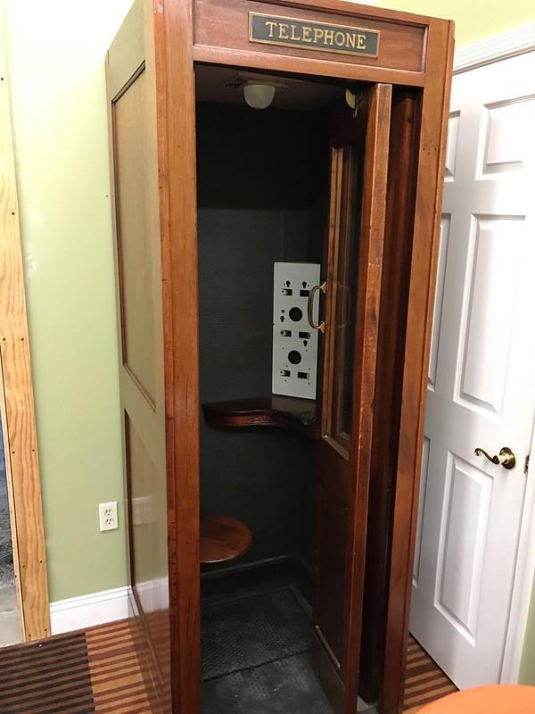 Vintage Phone Booth