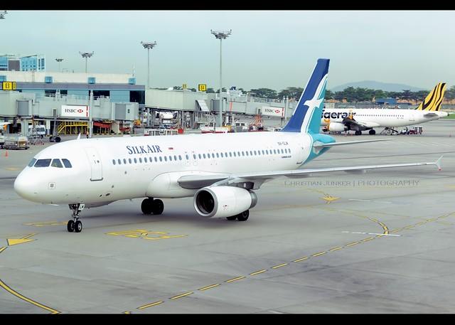 Airbus   A320-233   SilkAir   9V-SLM   Singapore/Changi   SIN   WSSS
