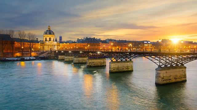 Pont des Arts from Paris