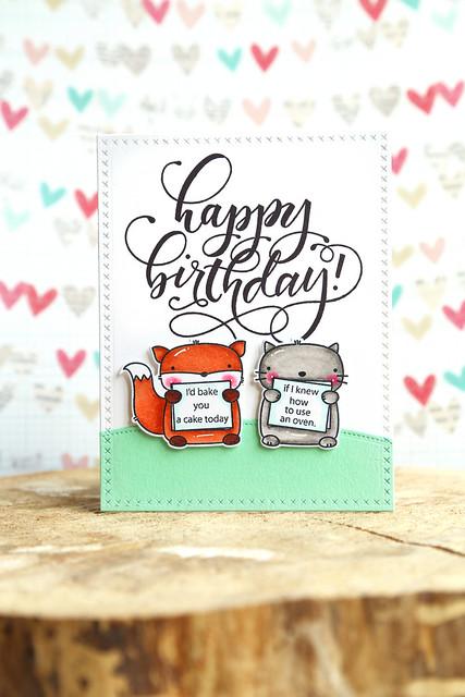 birthday wishes {mama elephant}