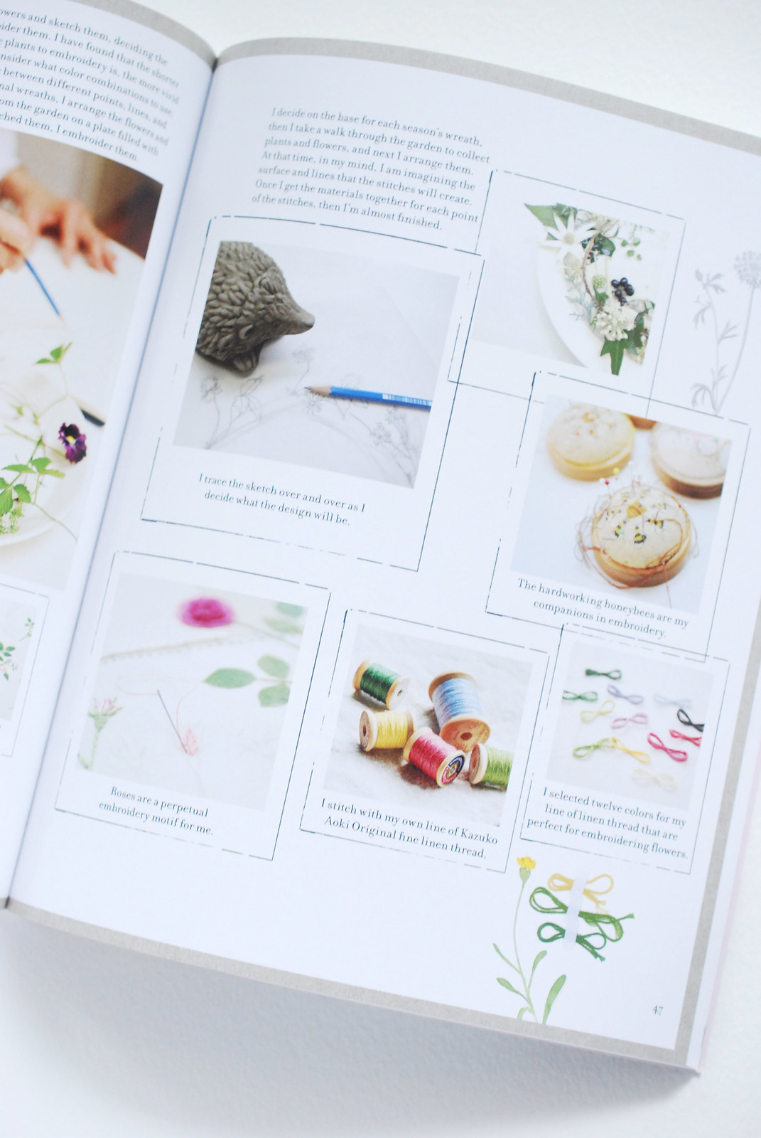 book review the embroidered garden - Embroidery Garden