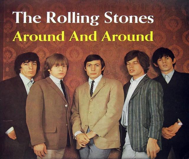 "Rolling Stones Around And Around Holland 12"" Vinyl Lp"