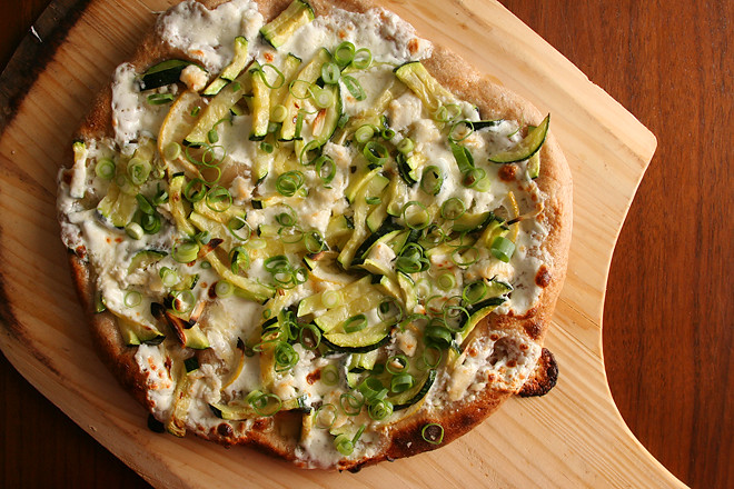 lemon thyme and goat cheese citrus chicken and goat cheese pizza pizza ...