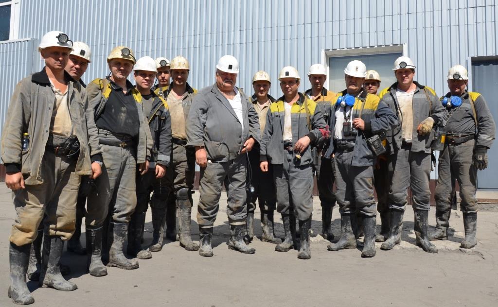 Государственная комиссия по приемке новой 1106-й лавы в ДТЭК ШУ Днепровское