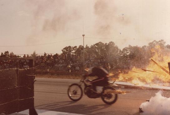 Randy Warren of Warren's Stunts