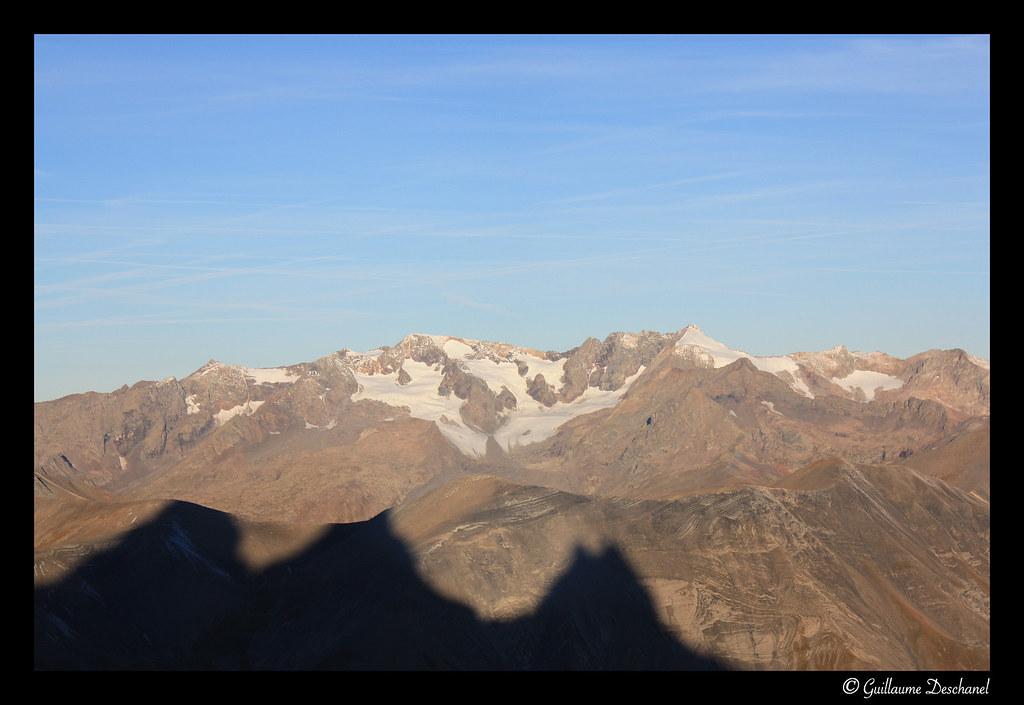 Vue sur le Massif des Grandes-Rousses