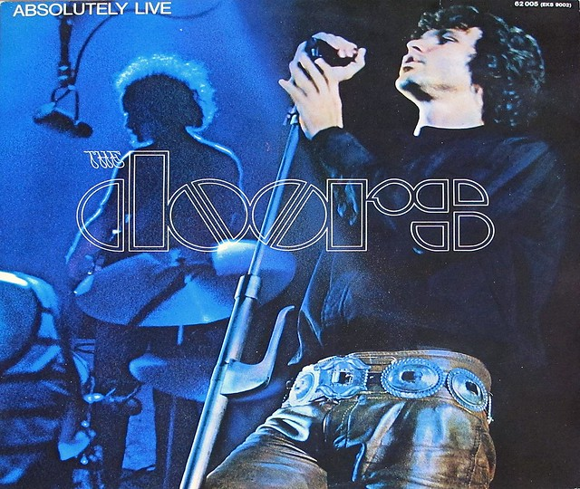 "DOORS ABSOLUTELY LIVE GATEFOLD 12"" 2LP VINYL"
