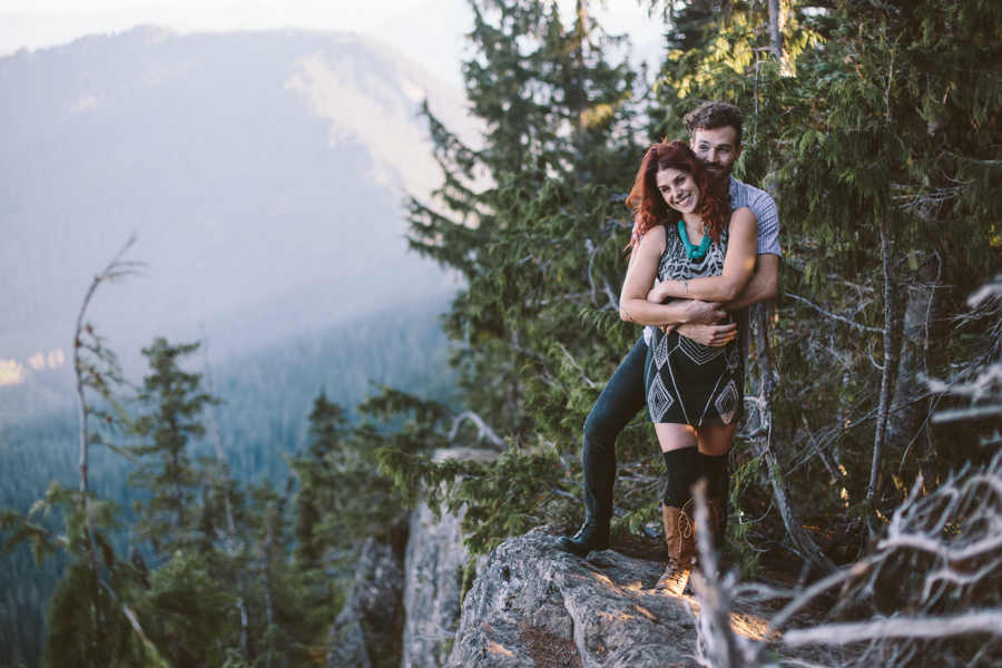 Mt. Rainier Engagement Session, Liz Morrow Studios