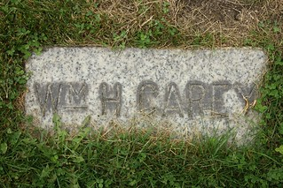 2015-10-10. Carey, Wm - Hobart Cemetery