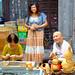 Vendors at Shu Yuan Men Street in Xian