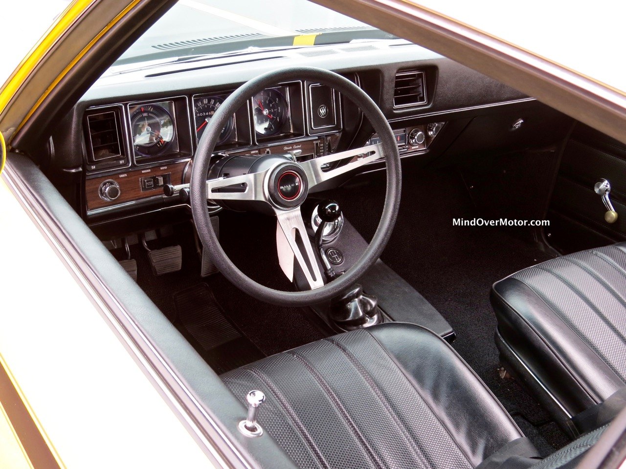 1970 Buick GSX Interior
