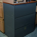 3 drawer grey lateral filer
