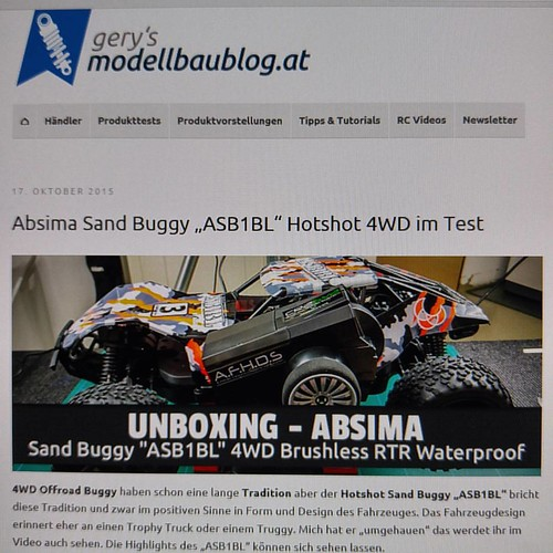 New Blogpost: Absima Sand Buggy