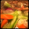 #Homemade #Chicken #Stock #CucinaDelloZio - toss the veggies in