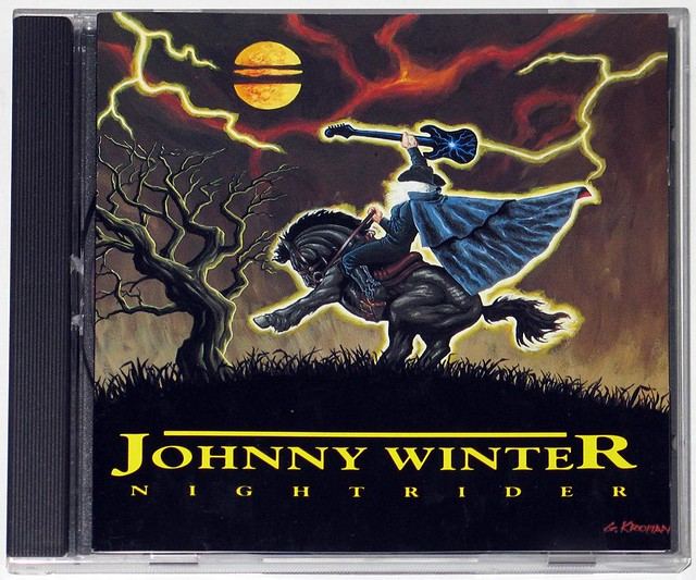 JOHNNY WINTER NIGHTRIDER RELIX RECORDS