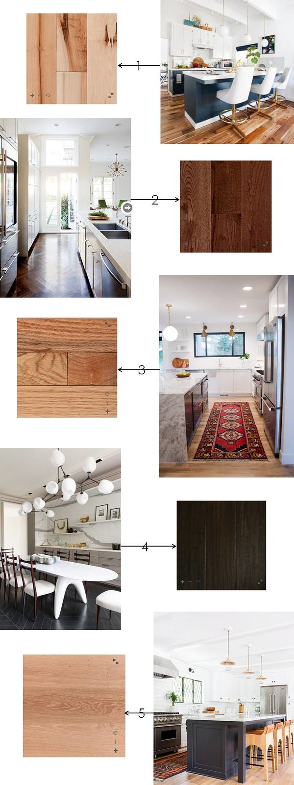 Floor & Decor hardwood flooring options